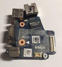Dell Latitude E6420 Audio Ethernet USB VGA Port Board 3258H LS-6592P Tested