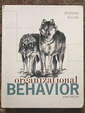 Organizational Behavior, 8th ed., Kreitner & Kinicki (2008, Hardcover)