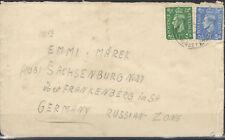 England Letter (198+202) Somerset after Sachsenburg (845043)