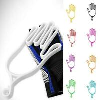Plastic Sport Golf Gloves Keeper Stretcher Gloves Support Frame Holder top E2R5