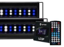 Current USA 4227 Orbit Marine IC Pro Led Reef Aquarium Dual Light System with Wi