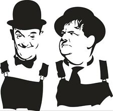 Sticker Laurel & Hardy 100 - 58x57 cm