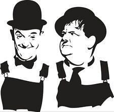 Sticker Laurel & Hardy 100 - 58x57 cm