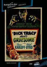 Dick Tracy Meets Gruesome (Anne Gwynne) - Region Free DVD - Sealed