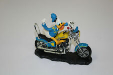 Donald Duck All Quacked Up Motorcycle Open Road Collection Figure #0238 Disney