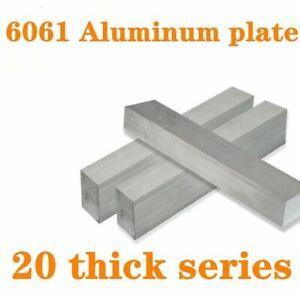 Flat Bar Plate Sheet Wear Resistance Aluminum DIY Metalworking Machinery Tools