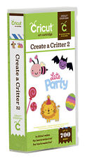 CRICUT *CREATE A CRITTER 2* SHAPES CARTRIDGE *NEW* DRESS UP ANIMALS -  HOLIDAYS