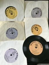 Vintage THE LETTER PEOPLE Record VINYL Alphabet D,F,L,H,T,J Childcraft 1978 LOT