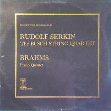 RUDOLF SERKIN Brahms Piano Concerto Busch String US Press Turnabout THS 65061 LP