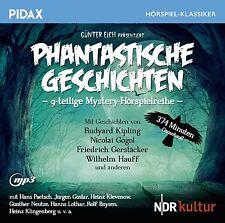 Phantastische Geschichten * CD Mystery Hörspielreihe Pidax MP3-CD Neu Ovp