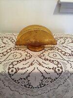 Tiara Indiana Glass Amber Sandwich Napkin Holder