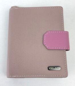 Felda Leather Pop Over Ladies Purse Wallet