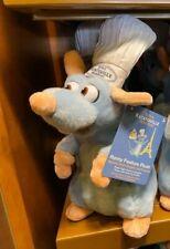 Disney World Epcot Ratatouille Adventure Talking Remy Plush, NEW