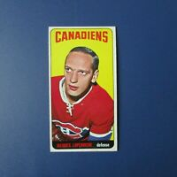 JACQUES LAPERRIERE 1964-65 Topps  # 53  Montreal Canadiens  NM/MINT 1965  64-65
