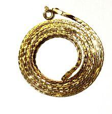 "14k yellow gold 20"" fancy link chain necklace 4.7g 1.70mm vintage estate antique"