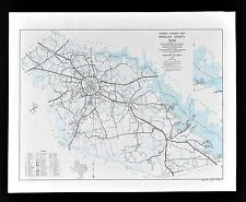 Texas Map - Angelina County Lufkin Huntington Diboll Zavalla Rayburn Reservoir