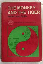 The Monkey and the Tiger Robert van Gulik 1st Ed Hardcover DJ 1965  Very Scarce.