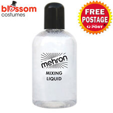 AC634 Mehron Mixing Liquid 133ml FX Costume Stage Makeup Liquid Clear Face Body