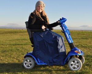 Splash Mobility Scooter Leg Cape - Waterproof - Fleece Lined  - Universal Size