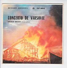 CONCERTO DE VARSOVIE Vinyle 45T Richard ADDINSELL Orchestre Dalibor BRAZDA RARE