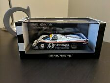 1983 Porsche 962 1/43 RARE Rothmans MINICHAMPS