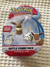 Pokémon Battle Figure Pack Togedemaru and Eevee NEW Battle Ready