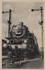 CARTE POSTALE COURRIER MILITAIRE Locomotive à Vapeur 86 180 (G1456)