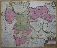 Niedersachsen - Circulus Saxoniae Inferioris... - Valk 1700 - Original - Rar