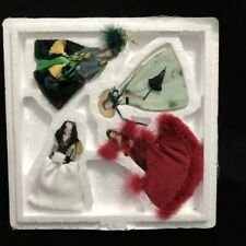Bradford Editions Gone With the Wind Legendary Costumes Of Scarlett Ornaments