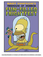 'The Simpsons Treehouse of Horror: Fun-filled Frightfest', Groening, Matt, New B