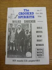Oct-1988 Chesterfield: The Crooked Spireite  No.07 - Independent Football Magazi