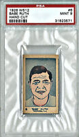 BABE RUTH PSA 9 1926 W512, Yankees Strip card...Make all your friends JEALOUS!