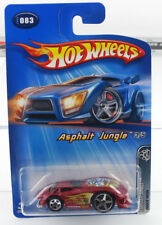 Hot Wheels Asphalt Jungle 2005 3/5 DODGE NEON MINT CAR FROM DEALER CASE