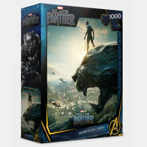 1000Piece Jigsaw Puzzle MARVERL Black Panther PL1015M