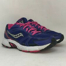 New listing Saucony Womens Oasis 15096-13 Blue Pink Running Shoes Lace Up Low Top Size 9.5