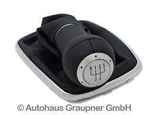 Volkswagen Sport Edition Leder Schaltknauf VW Golf 4 Bora Chrom Alu R32