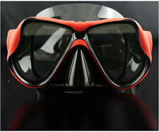 Stylish Piping Red Scuba Diving Goggles