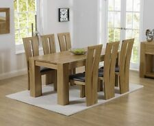 Provence Oak Up to 8 Seats Table & Chair Sets