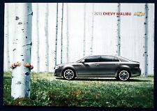 Prospectus brochure 2010 Chevrolet Chevy Malibu (Etats-Unis)