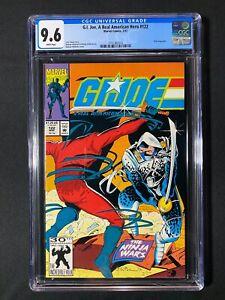 G.I. Joe, A Real American Hero #122 CGC 9.6 (1992) - Billy biography