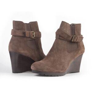 Lauren by Ralph Lauren ~ Yasline Women's Premium Suede Ankle Boots $150 NIB