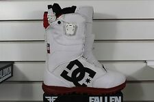 2016 DC Womens Avour Snowboard Boots Size 7 White Red Black