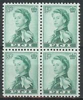 Fiji 1961 Sc# 163 Queen Elizabeth block 4 MNH