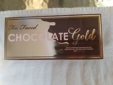 AUTHENTIC Too Faced Chocolate Gold Metallic/Matte Eyeshadow Palette - New In Box