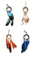 Traumfänger Dreamcatcher mit Lebensbaum Dekoration Federn Windspiel