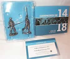 WW1 1914-18 diecast figures Infantry Officer & Moroccan Soldier1914 new in box