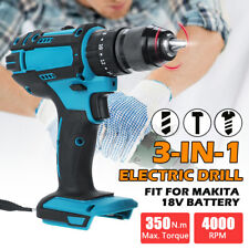 3 in 1 18V Electric Cordless Drill 350N.m Brushless Screwdriver Hammer Driver