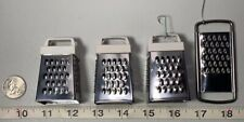 Acme Mini Cheese Grater refrigerator magnet + 3 other graters(no magnets) Doll H