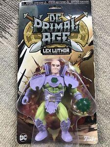 Funko 2018 DC PRIMAL AGE LEX LUTHER Figure Toy Batman DC No Plastic Insert Orig.
