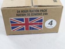 Menue #04 GB ARMY 24 Hour Combat Ration MRE EPA SURVIVAL Notration Verpflegung